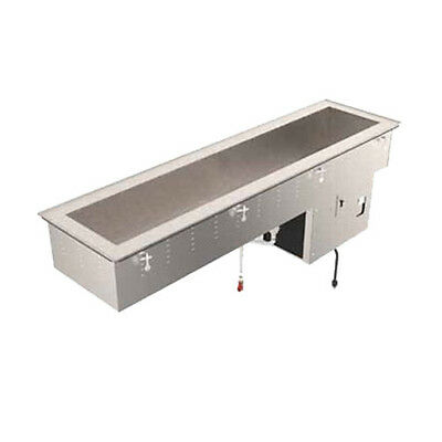 Vollrath 36655 3 Pan Refrigerated Drop-in Short Sided 8d Cold Food Well