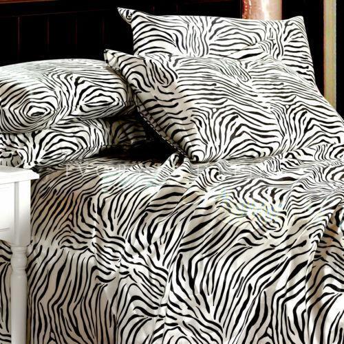 Zebra Print Bedding Ebay