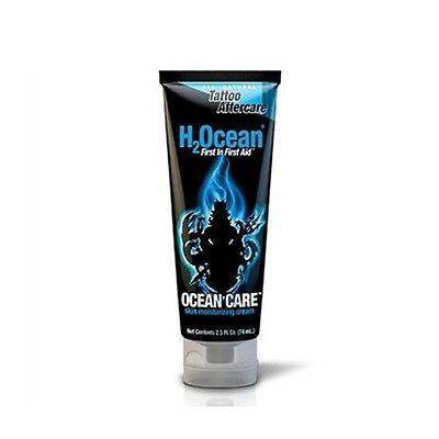 H2Ocean OCEAN CARE Skin Moisturizing Cream 2.5-oz Tattoo Aftercare Lotion (Tattoo Care Lotion)