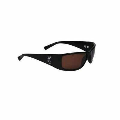 Browning Sunglasses Boss Black TR90 Frame Amber CR39 Polarized Lens BRN-BOS-002