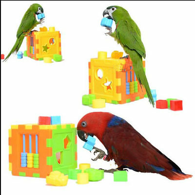 Birds Parrot Toy Parakeet Bird Product Supplies Puzzle Toy D415