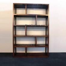 Bookcase Timber Cube W.120xD.32xH.180, Storage Unit. Murrumbeena Glen Eira Area Preview