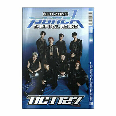 NCT 127 [NEO ZONE:THE FINAL ROUND]Repackage Album 2ND VER CD+POSTER+P.Book+3Card