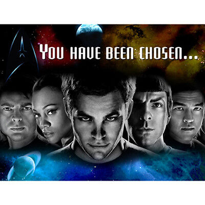 STAR TREK Party Invitations 8/pkg, Birthday Party supplies Limited, Free Shippin