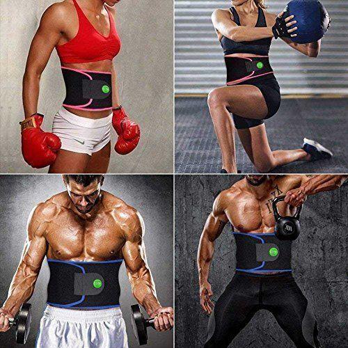 Cosi Fashion Waist Trimmer Belt Stomach Fat Burner Ab Belt f