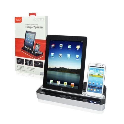 ipad 3 speaker dock ebay. Black Bedroom Furniture Sets. Home Design Ideas