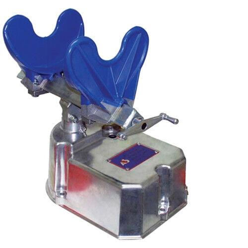 "AES Pneumatic Paint Can Shaker Machine 9000 Pint, Quart & Gallon Mixer 1/4"" NPT"