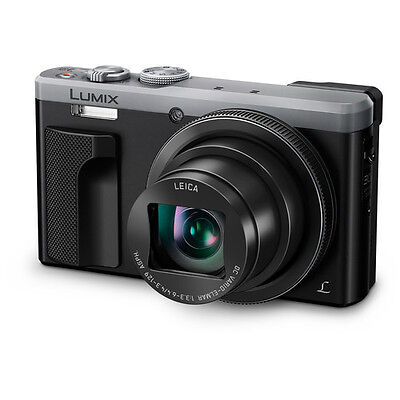 Panasonic Lumix DMC-ZS60 Digital Camera - Silver