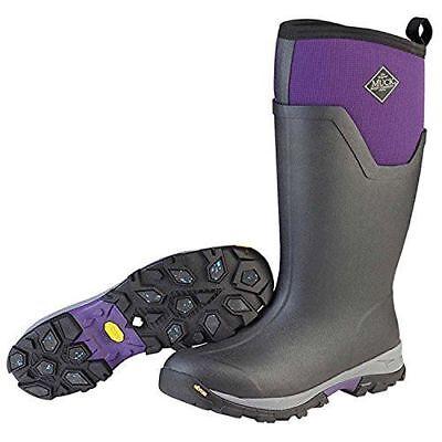 NEW Muck Women's Arctic Ice Tall Purple VIBRAM ICETREK SOLE EXTREME WINTER BOOTS Ice Winter Boots