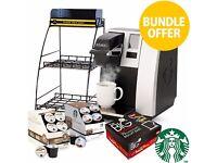 Keurig K150c Coffee Tea Maker Machine Cappucino Espresso Office Catering Restaurant