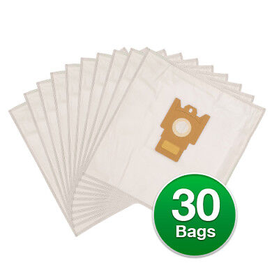 Replacement Type G/N Poly Wrapper Vacuum Bags For Miele Olympus S2120  - 6 Pack