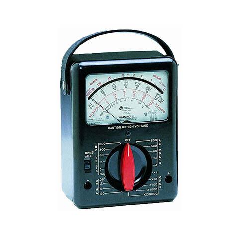 Triplett 3030 Model 630 Analog Volt-Ohm Meter with 25 Ranges