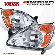 2003 Honda CRV Headlight