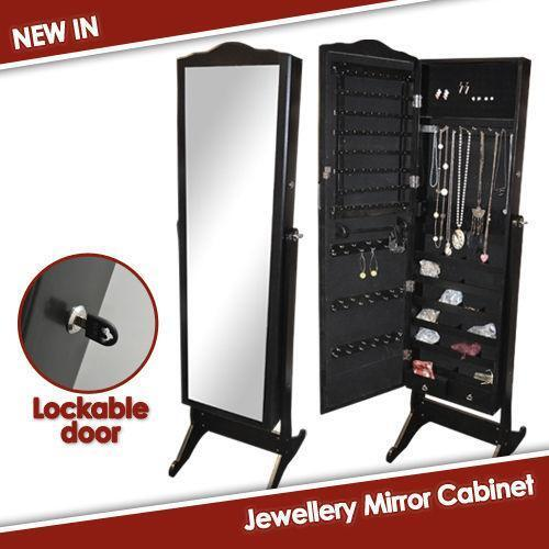 Jewellery box cabinet ebay for Best big box store kitchen cabinets