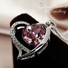 Copper Amethyst White Gold Filled Fashion Jewellery