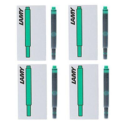 Lamy Fountain Pen Ink Cartridges, Green Ink, Pack of 20 (LT10GR)