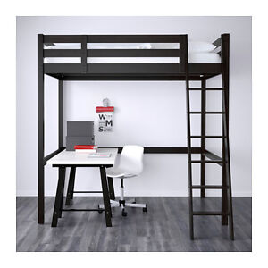Stora Loft bed from IKEA with desk/3 drawers