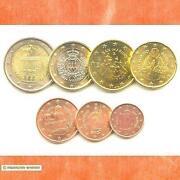 Euro Münzen Satz
