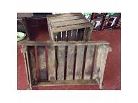 Brand New Unused Original Vintage Wooden Vegetable Crate/Storage/Display £8.00 Each