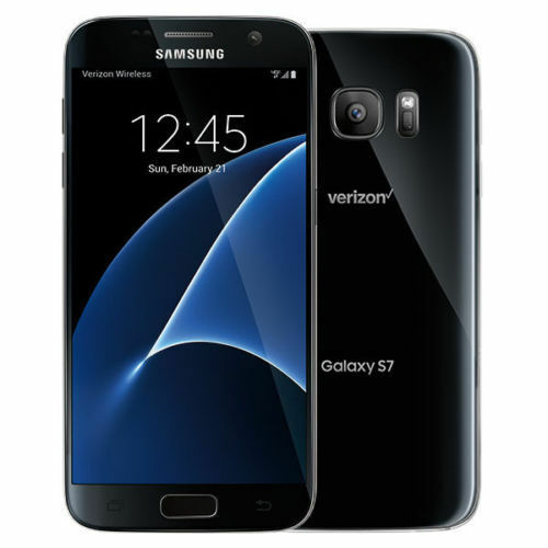 Android Phone - New Samsung Galaxy S7 SM-G930V  32GB - Black Verizon Smartphone