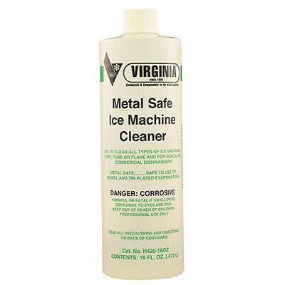 Virginia 475068 Metal Safe Ice Machine Cleaner 16oz
