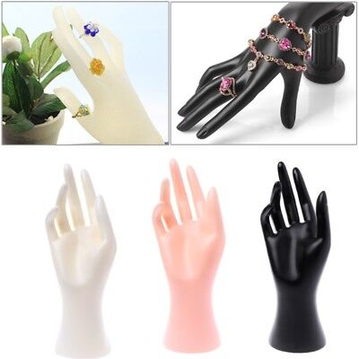 Mannequin Hand Finger Glove Ring Bracelet Bangle Jewelry Display Stand Holder