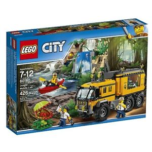 BNIB LEGO City Jungle Explorers Jungle Mobile Lab 60160