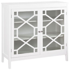 Fetti Modern Large Cabinet - White