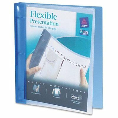 Avery Flexible View Pocket Presentation Binder - Letter - 8.50 X 11 Ave17675