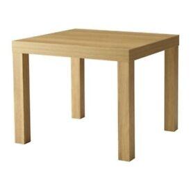 Ikea Side table LACK Oak effect
