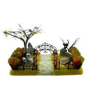Dept 56 Haunted Front Yard