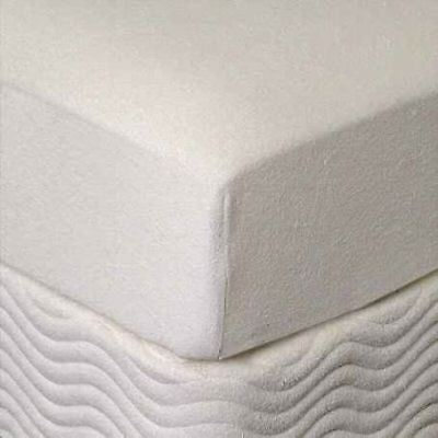 "Zippered Mattress Cover for King 3"" Memory Foam Topper"