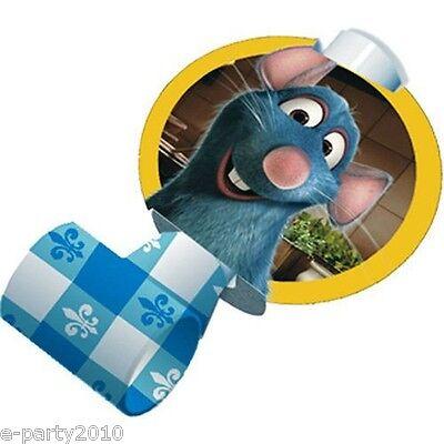 Ratatouille Birthday Party - RATATOUILLE BLOWOUTS (8) ~ Birthday Party Supplies Favors Paper Disney Pixar