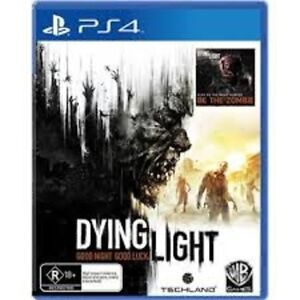 PS4 GAMES WANTED: DYING LIGHT +WOLFENSTIEN:OLD BLOOD + MORE