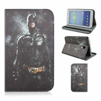 "Batman 7"" Stand Leather Folio Cover Case For Samsung Galaxy Tab"
