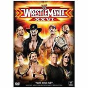 Wrestlemania DVD