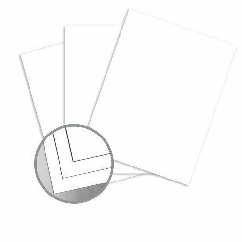 """12 x 18"""" Futura White Card Stock - 100lb Cover, Matte, C/2S - 200 Per Pack"""
