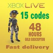 Xbox Live Gold 48 Hour