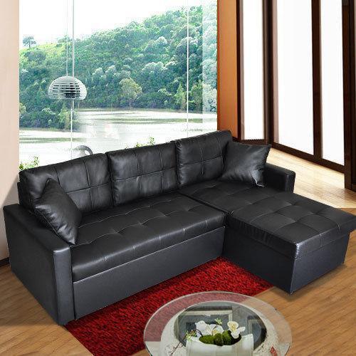 White Leather Corner Sofa Ebay: Chaise Corner Lounge: Sofas, Couches