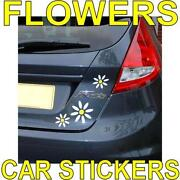 Daisy Flower Car Stickers