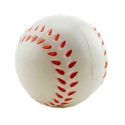 Adorox Mini Stress Relief Squeeze Ball Baseball FAST SHIP! ED9](Baseball Stress Ball)
