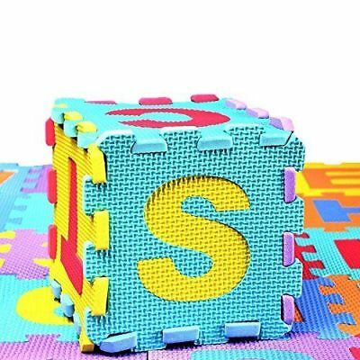 Interlocking Soft EVA Foam Baby Kids Play Mat Alphabet Number Puzzle Game 36Pcs