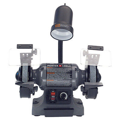 Porter-Cable 2.5 Amp 6 in. Variable Speed Bench Grinder PCB525BG New