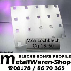 lochblech edelstahl ebay. Black Bedroom Furniture Sets. Home Design Ideas
