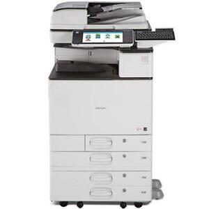 REPOOSSESSED Ricoh MP 3054 Monochrome Multifunction Printer Copier Color Scanner Copy MAchine Photocopier BUY LEASE RENT