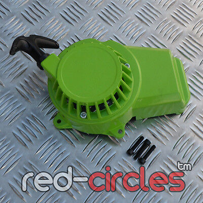 GREEN 49cc METAL COG MINI MOTO MINIMOTO QUAD BIKE PULL START CORD PULLSTART