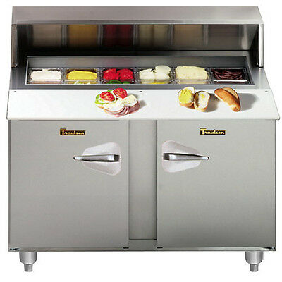 "Traulsen UPT488-LR 48"" Compact Refrigerated Counter- Hinged Left/Right"