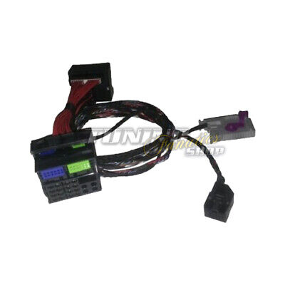 For Navigation plus / Rns-E Rnse Adapter Cable Loom Audi Ami Media Interface
