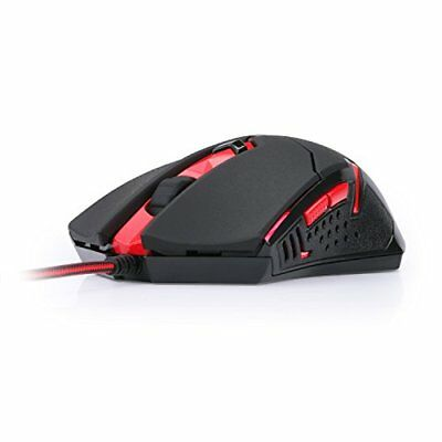 M601 Gaming Mouse wired red led 3200 DPI 6 Buttons Ergonomic CENTROPHORUS PC