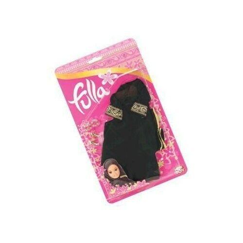 Limited Ed Fulla Doll Gold trim Hijab Abaya Bangles Gold Shoes Collectors item